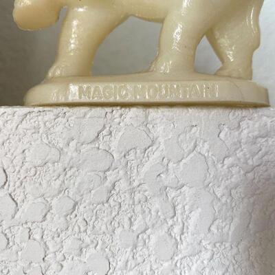 Disney Mold A Rama Moldarama Elephant Magic Mountain Wax Souvenir Collectible
