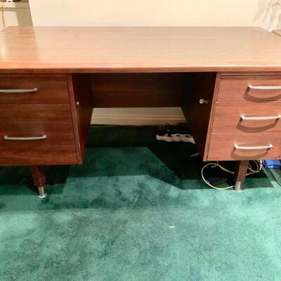 LOT 51  MCM EXECUTIVE DESK TIERMAN'S POMONA