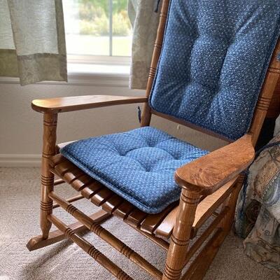 Cracker Barrel vintage rocking chair solid wood