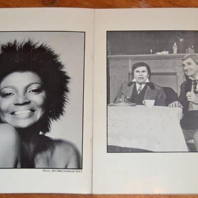 Lot#2 Star Trek cast Hidden Talents booklets