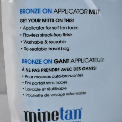 Bronzer Applicator Mitt, Blue - New