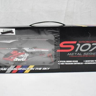 Syma S107/S107G 3 Channel RC Helicopter with Gyro - New