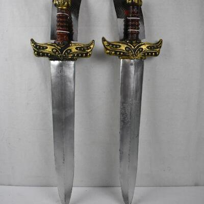 2 Costume Sword Weapons by