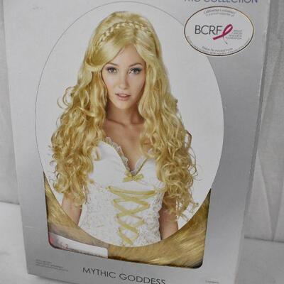 Blonde Long Curly Hair Wig by California Costumes