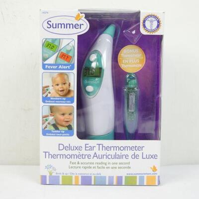 Summer Infant Ear & Oral Thermometer Set - New