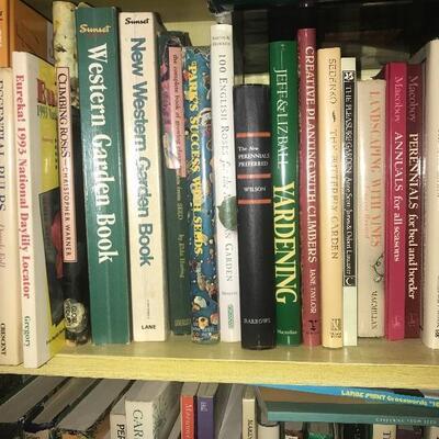Lot of 48 Gardening Books Shelf 3B