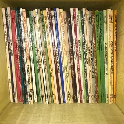 Lot of 40 Gardening Books Cubby 5