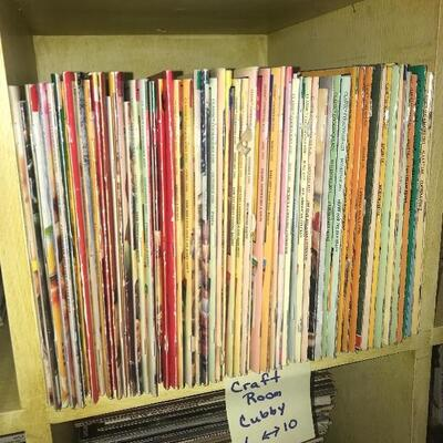 Lot of Paperback Cookbooks Cubby #3
