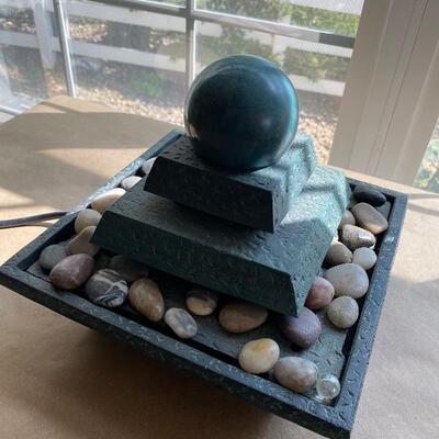 Zen water fountain feature