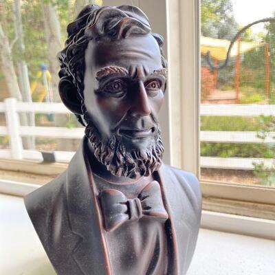 Abraham Lincoln JD Litten signed bust