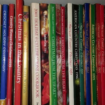Lot of Christmas Crafting Books Shelf 18B