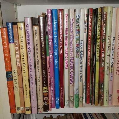 Lot of Crafting Books Shelf 19A