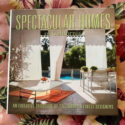 PT3#5  SPECTACULAR HOMES of CALIFORNIA HARD COVER BOOK