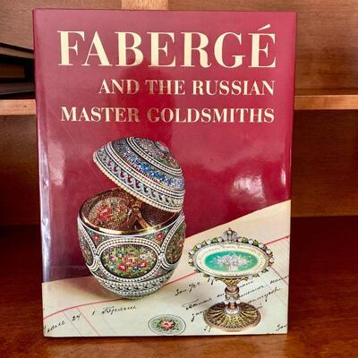 PT3#26  FABREGE and the RUSSIAN MASTER GOLDSMITHS COFFEE TABLE BOOK