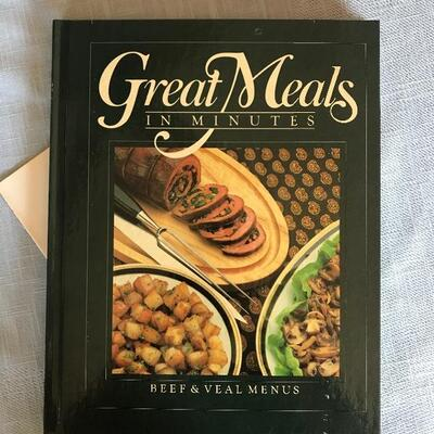 """Great Meals in Minutes"" 9-Vol. Cookbook Set by Time-Life  shelf: DR-1A"