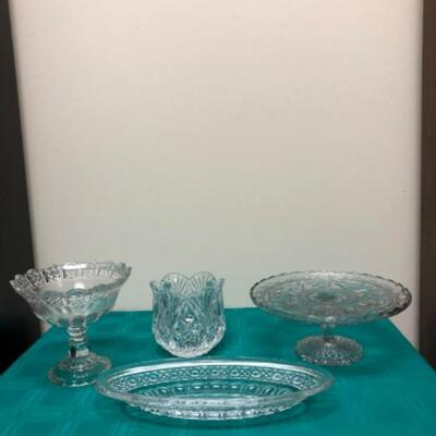 Crystal & Glass Serving Pieces