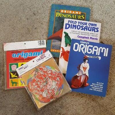 5-piece Origami Lot: 3 Books + 2 Kits (office)