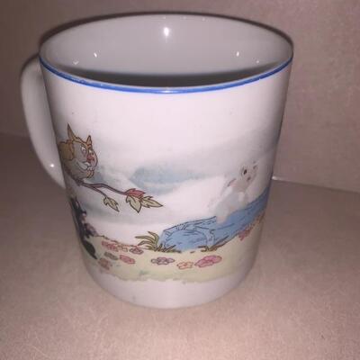 Vintage Bambi coffee cup mug