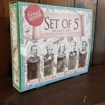 Brainteasers Boxed Set of 5 (office)