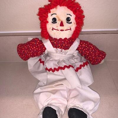 Raggedy Ann vintage doll