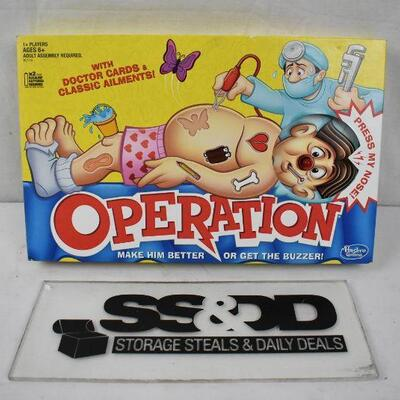 Operation Board Game - New, Dinged Box