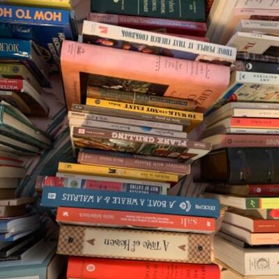 18. Large assortment of books