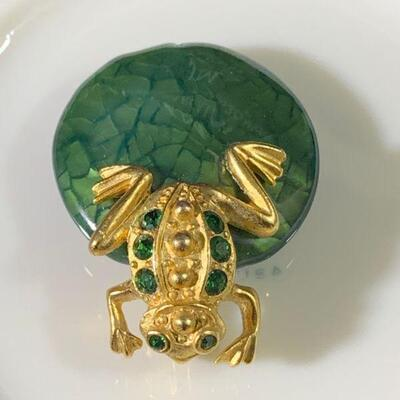 14K Yellow Gold & Emerald Pendant