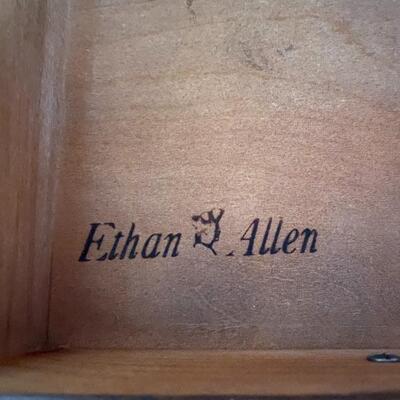 Ethan Allen Old Tavern Dresser with Hutch