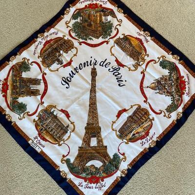 Souvenir de Paris Scarf
