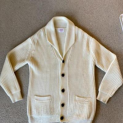 Heavy Button Up Cardigan