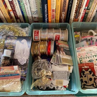 Mixed Craft Supply Lot