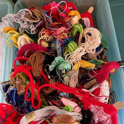Embroidery Needlepoint Floss Lot