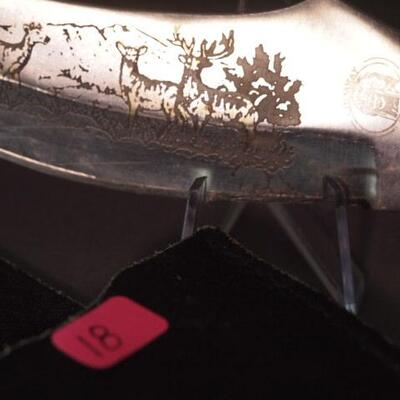 Older Hunting Knife With Sheath
