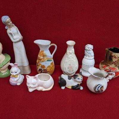 Random ceramic collectibles