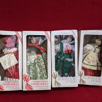Gorham christmas dolls