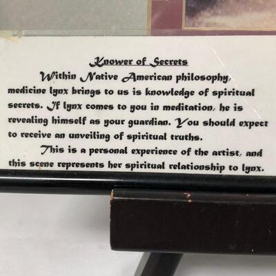 Lot 3 - Knower of Secrets Framed Art
