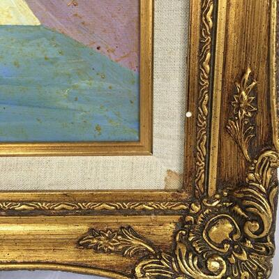 Lot 4 - Gold Framed Picasso Style