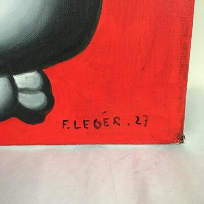 Lot 7 - Fernand Leger Style Nude