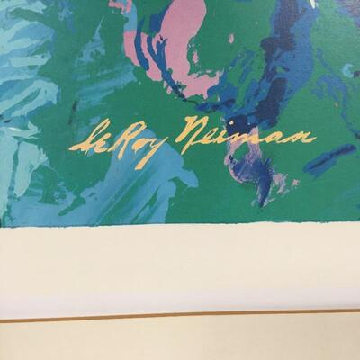 Lot 8 - Leroy Neiman Golfing Screenprint