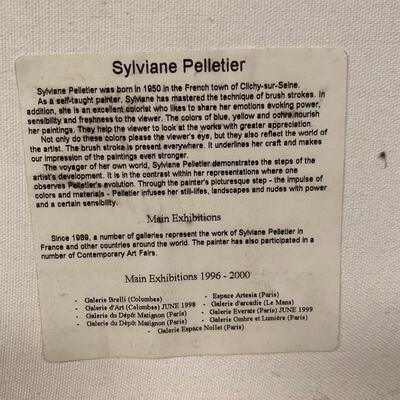 Lot 9 - Sylviane Pelletier Artwork