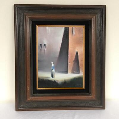 Lot 11 - Robert Watson Framed Oil Painting