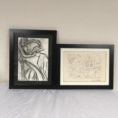 Lot 13 - Framed Henri Matisse Style