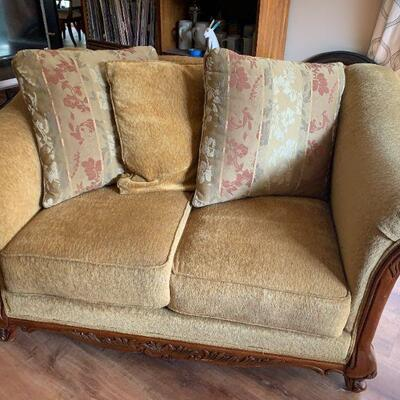 LOT 3 Upholstered Love Seat
