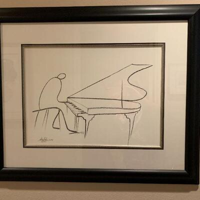 LOT 6 Okaybabs Numbered LE Framed Print
