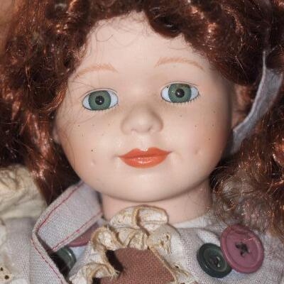 Porcelain  Collectable  doll