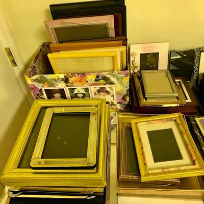 All Frames $5 EACH REGARDLESS OF SIZE: 8x10 5x7 4x6 All Fine Quality Frames