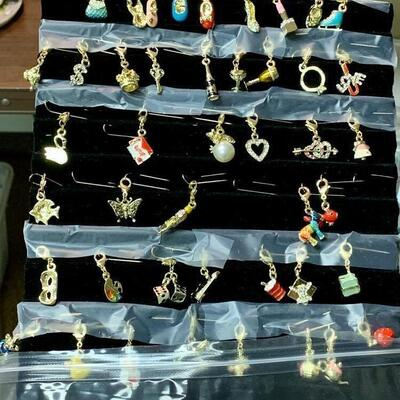 Take 1-10 Charms: $2 each/ 11 or more $1 Each 24k Gold Plated Charms / Lobster Claw Lock                                   Or  Silver...