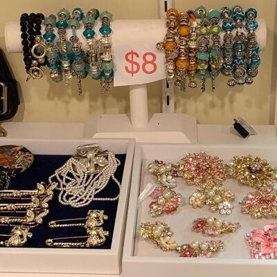 Markdown $6 Bracelets-  Pins Range $4-$6