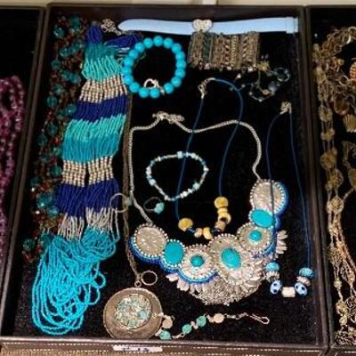 We have over 14 Different Fine Costume Jewelry Trays: including Necklaces, Bracelets, Rings, Earrings - prices Range $10-$20