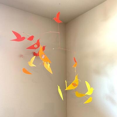 LOT 33 Paper Bird Mobile by Katsumi Komogata